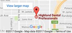 Map - Highland Dental